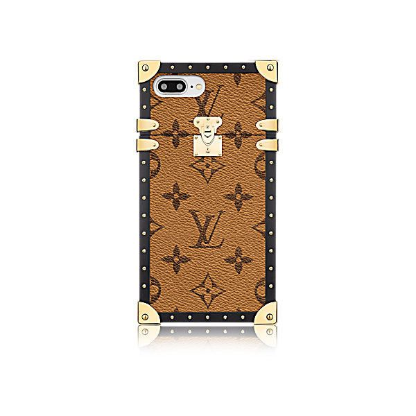 Eye-Trunk for Iphone 7 Plus Other Monogram Canvas (12605 MAD) ❤ liked on Polyvore featuring accessories and tech accessories