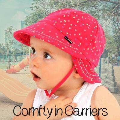 #babysunhats #babyhats - wear in prams and baby carriers!