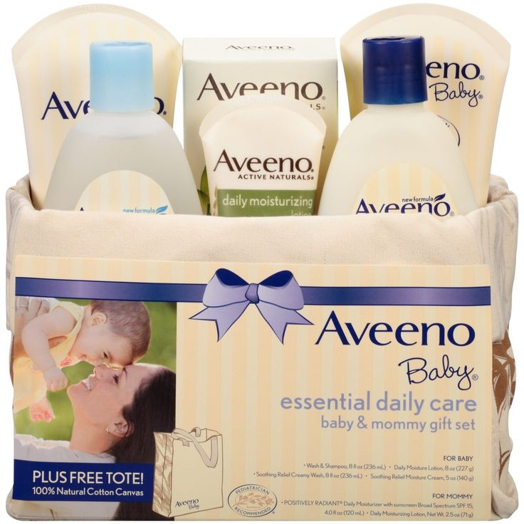 Aveeno Baby Mommy Me Gift Set Baby Skin Care Products