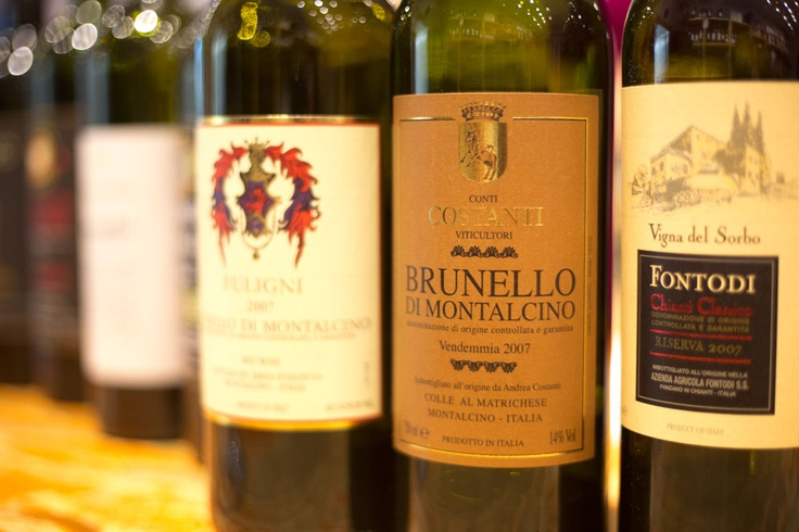 Costanti Brunello di Montalcino - one of our favs from our Brunello tasting