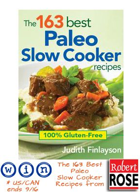 The 163 Best Paleo Slow Cooker Recipes Cookbook Review {and giveaway}