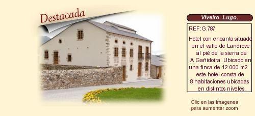 G787 Viveiro. Lugo.  Hotel con encanto en venta. http://www.lancoisdoval.es/hoteles-con-encanto-en-venta.html