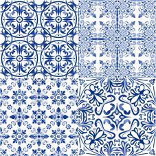 MILAN | CHINOISERIE | Face 3 | 40x40 | Wall & Floor Tile