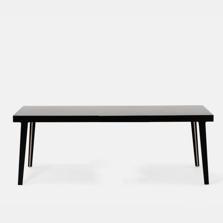 Established sons m5 tisch schwarz hpl 220x90cm for Design thinking tisch
