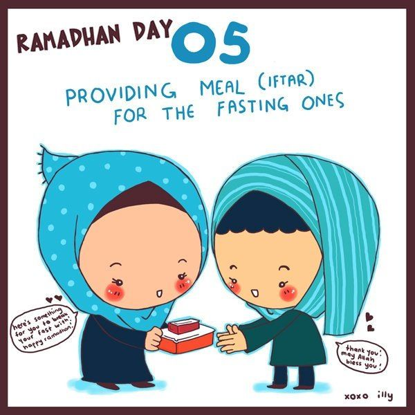 Day 5: provide Iftar to a person or family.