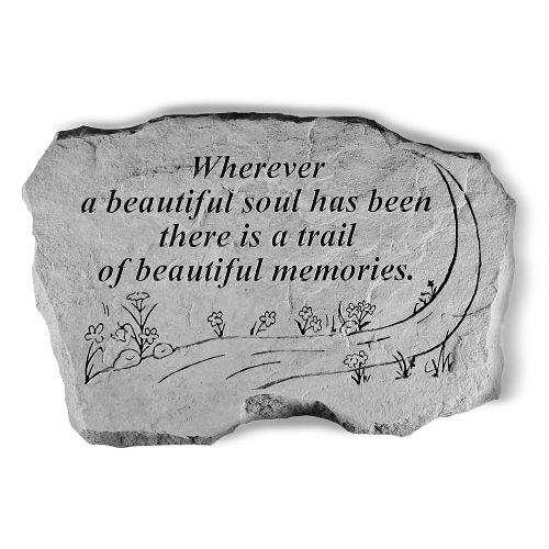 A Beautiful Soul Garden Stone Best Seller Memorials