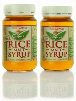 Rice-malt-syrup - consistency of honey, fructose free