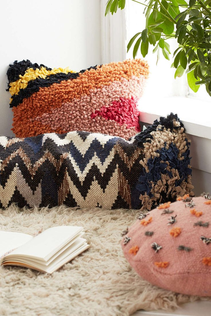 New Friends X UO Pom Pillow - Urban Outfitters