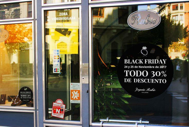 Esta semana os presentamos una de las campañas que hemos preparado para el BLACK FRIDAY de Joyería Rubio. #Publicidad #Campaña #Promoción #Comunicación #Branding #BlackFriday #Diseñografico #Descuento #Bilbao #Vitoria #Madrid #Pamplona #Zaragoza #Navarra #LittleBrandStory