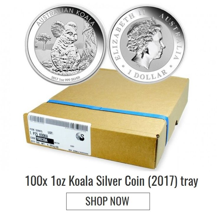 #Brisbane #Bullion presents the 1oz #Koala Silver Coin (2017) by the Perth Mint in a tray of 100 coins. Do not lose the opportunity of buying this tray at cheapest price only available at https://www.brisbanebullion.com.au/100x-1-oz-koala-silver-coin-2017 #gold #silver #platinum #rooster #australian #lunarsilvercoin #brisbanebullion #buy #shopnow #bestprice #brisbane #queenlands #australia #shoponline #goldmintedbar #Koalasilvercoin #silvercoin