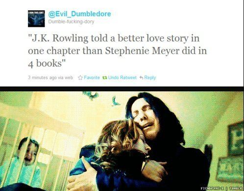 "Can't watch this without weeping. ""Always""  JKR tells a far better story in that one word..."