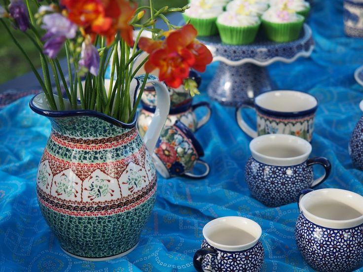 Gorgeous Polish Pottery from Blue Jasmine