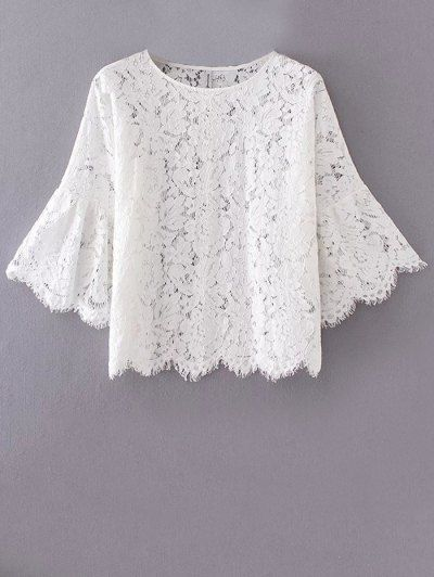 SHARE & Get it FREE | Flare Sleeve Lace BlouseFor Fashion Lovers only:80,000+ Items • New Arrivals Daily Join Zaful: Get YOUR $50 NOW!
