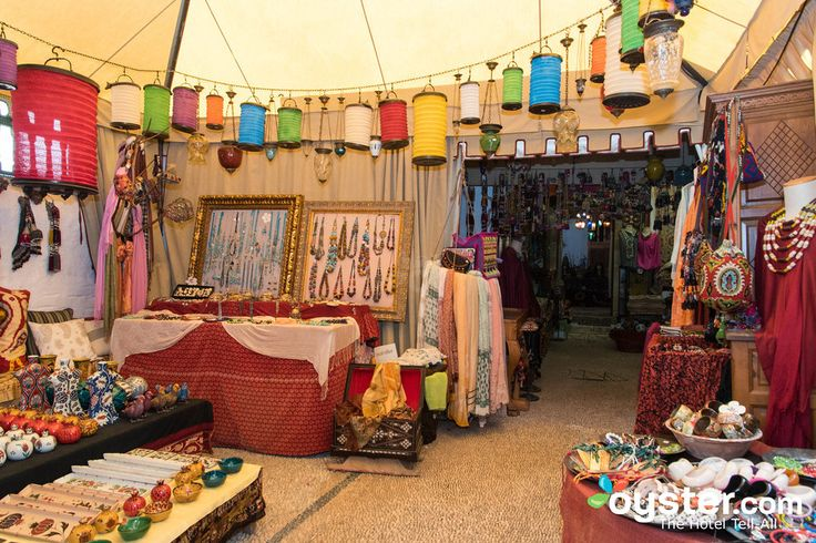 Shops at the Melenos Lindos Hotel
