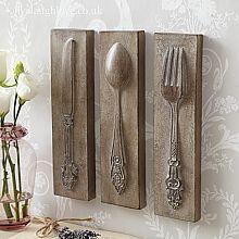 cutlery decor  decoracin cocina cosas lindas y comedor