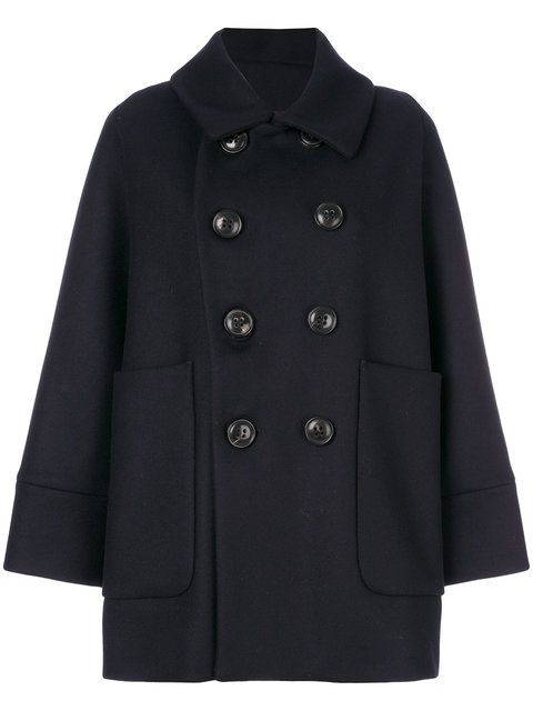 DSQUARED2 Oversized Peacoat. #dsquared2 #cloth #peacoat
