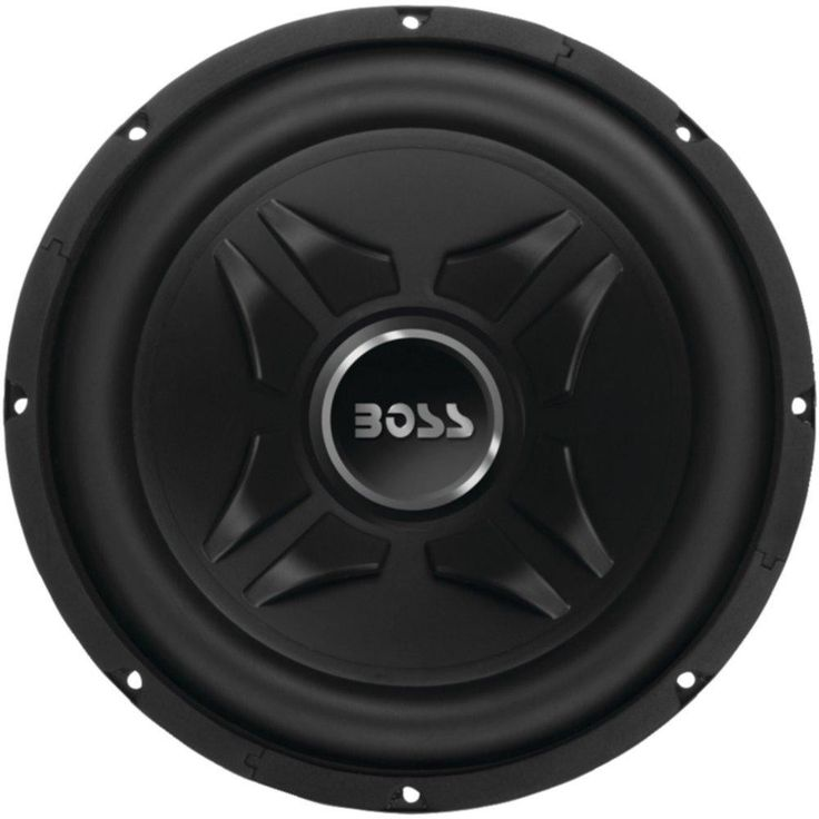 BOSS AUDIO CXX8 Chaos Exxtreme Series Single Voice-Coil Subwoofer (8, 600 Watts)