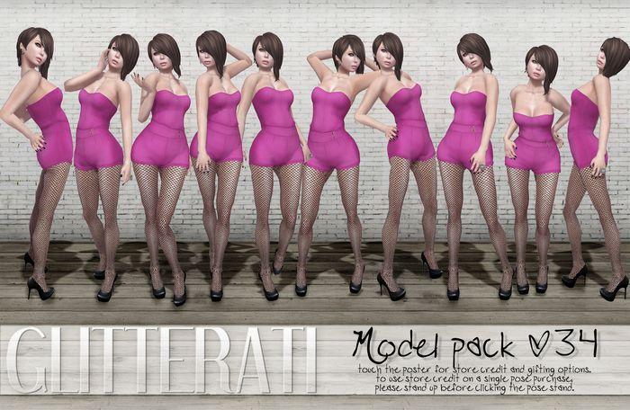 GLITTERATI - Model pack 34