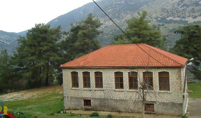 Θεσπρωτία: Το παλιό Δημοτικό Σχολείο Kοκκινιάς που ήταν έρημα κουβάρια αξιοποιείται από τους κατοίκους του χωριού!