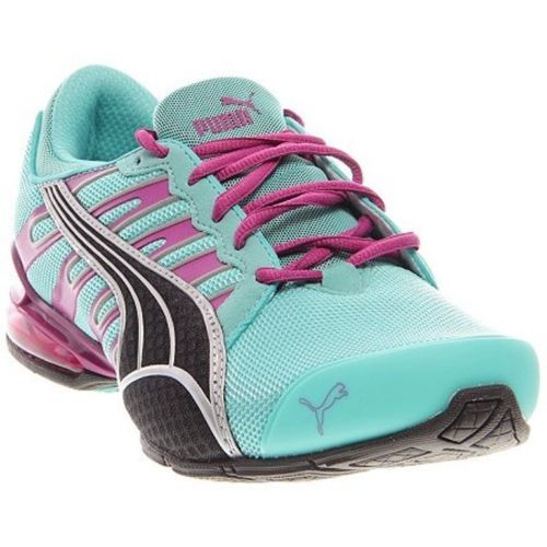 Puma Women's Voltaic 3 NM Running Shoes - Pool Blue (Teal) / Purple Blk / Silver