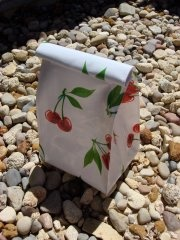 EdanRose  Oilcloth Lunch Sack for your giveaway. Value is $17.50.  To Enter Repin Each Prize You Would LIke To Win onto your Pinterest Page Then click on this photo x 2 to take you to the Facebook page to enter You Must Be Able To Pick Up Your Prize At Market on 24th March To Enter
