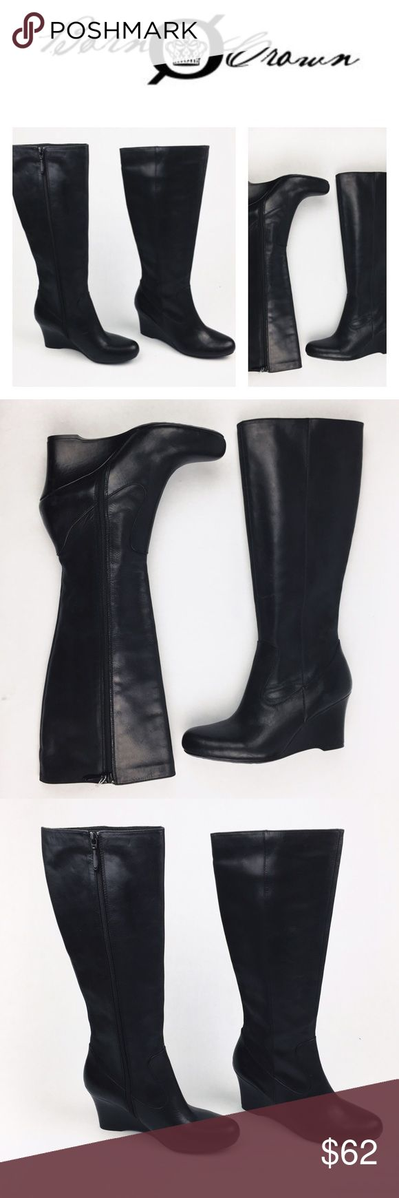 BORN CROWN BLACK ZIP UP LEATHER BOOTS SZ9.5 Hot hot hot! BORN CROWN leather zip up black boots in Sz 9.5. Super sexy to wear with everything! Brand new never worn! Come without box, so might have some handling signs. Love them? Make an offer! Questions? Ask me 😉 Born Shoes Over the Knee Boots
