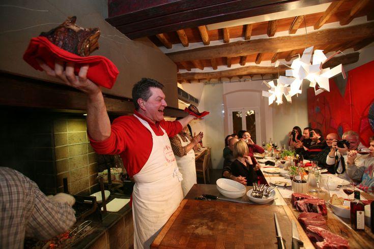 Dario Cecchini's L'Officina restaurant experience