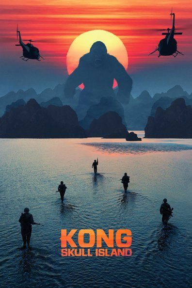 Kong: Skull Island 2017, Explore the mysterious and dangerous home of the king of the apes as a team of explorers ventures deep inside the treacherous, primordial island.