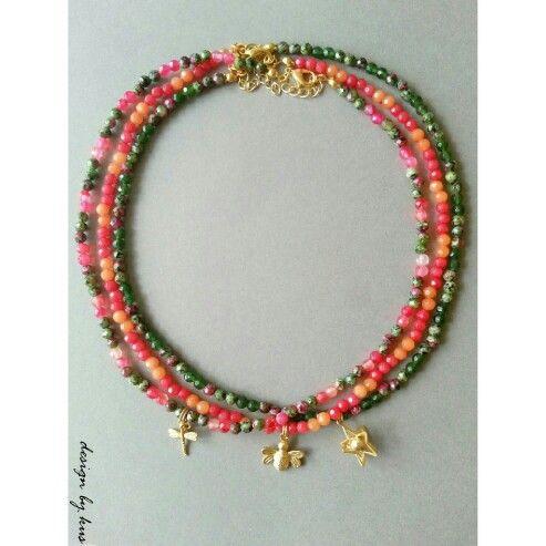 Takılarla Renklenin!   Enerjisi yüksek doğal taş kolyeler ile kombinlerinize renk katın!