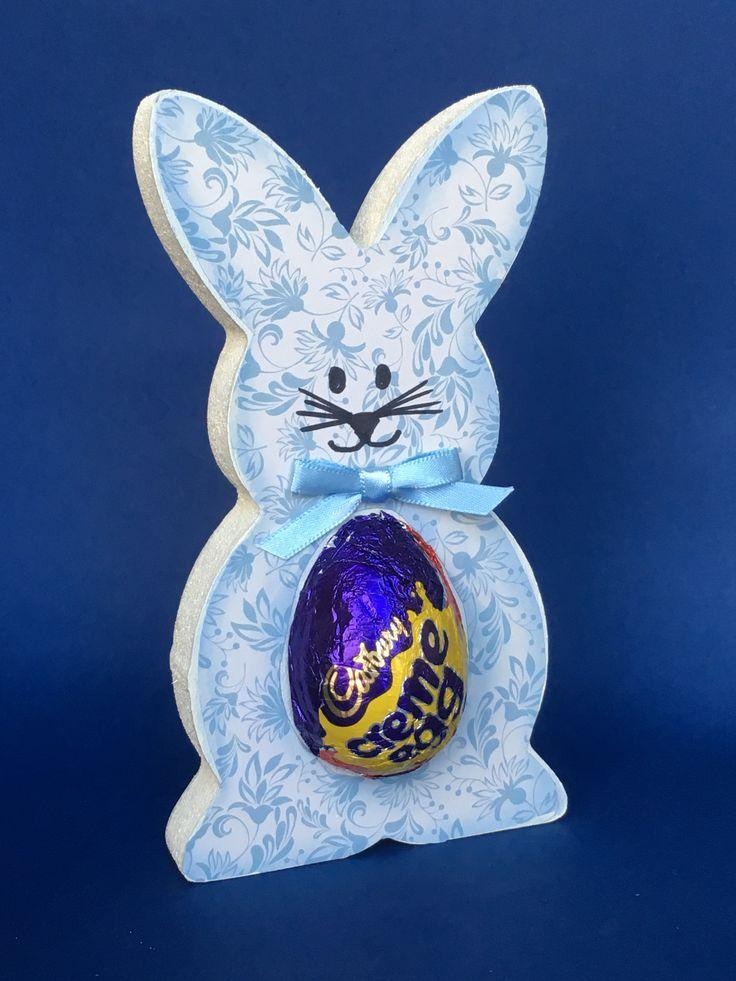 Easter bunny creme egg holder
