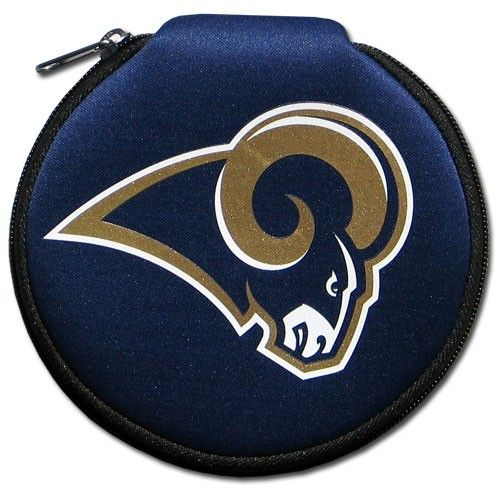 """Checkout our #LicensedGear products FREE SHIPPING + 10% OFF Coupon Code """"Official"""" NFL CD Case - St. Louis Rams - Officially licensed NFL product Licensee: Siskiyou Buckle    Los Angeles Rams - Price: $16.00. Buy now at https://officiallylicensedgear.com/nfl-cd-case-st-louis-rams-fncd130"""