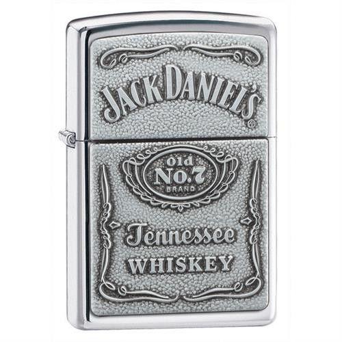 Zippo Jack Daniels High Polish Lighter , - JDS, The House of Awareness - 1