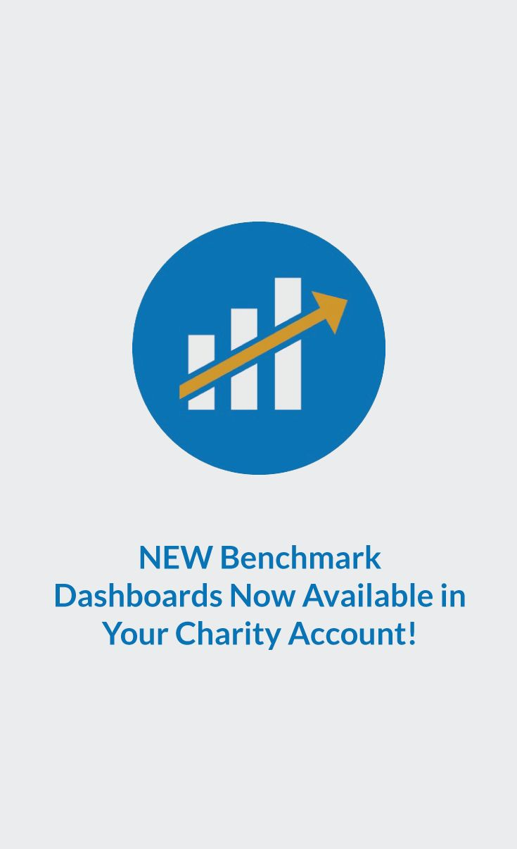 NEW Benchmark Dashboards Now Available in Your Charity Account! #CanadaHelps #charity