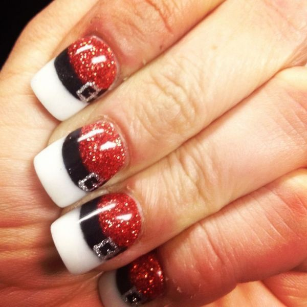 22 best christmas nails images on pinterest dupes acrylic nail 88 awesome christmas nail art design ideas 2017 prinsesfo Gallery