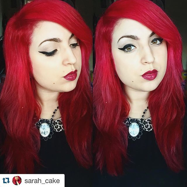 #Repost @sarah_cake ・・・ Roots be gone! Used a new hair dye brand called @hermanshaircolor in Ruby Red, I love how it's come out ❤️ it was also really easy to apply, smelt nice, is vegan, not tested on animals & wasn't too messy :) you also get loads in one tub! #hermanshaircolor #hairdye #redhair #alternative #colouredhair #longhair #hermansprofessional #hermansamazinghaircolor #vegan #nottestedonanimals #hermanshaircolor