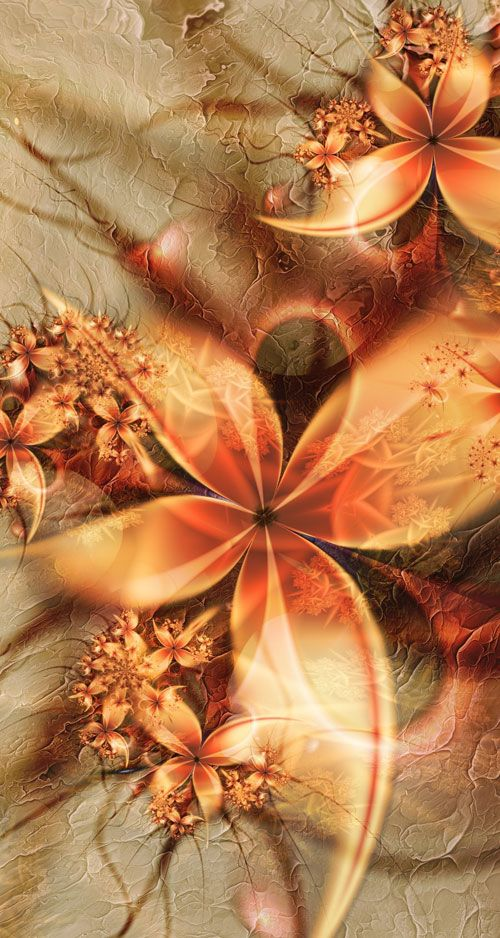 Fractal Art are irregular shapes not definable by geometry, objects with gorgeous colors and complex structure with recursive definition -- the irregular scale shape make them more inspiring for pe...