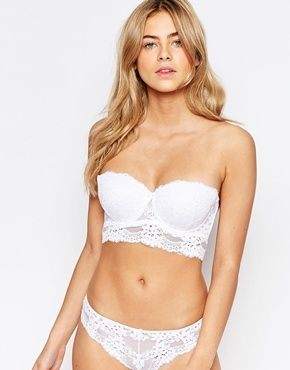 I love white lingerie, something so clean and fresh about it