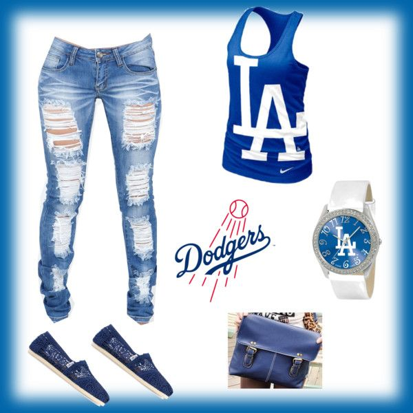 #Dodgers Girl #outfit