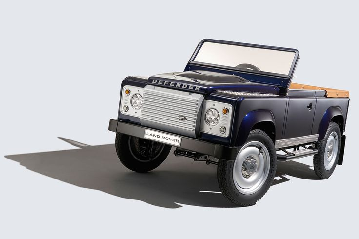 Amongst the shiny new metal at Frankfurt, #LandRover has revealed something for the little ones