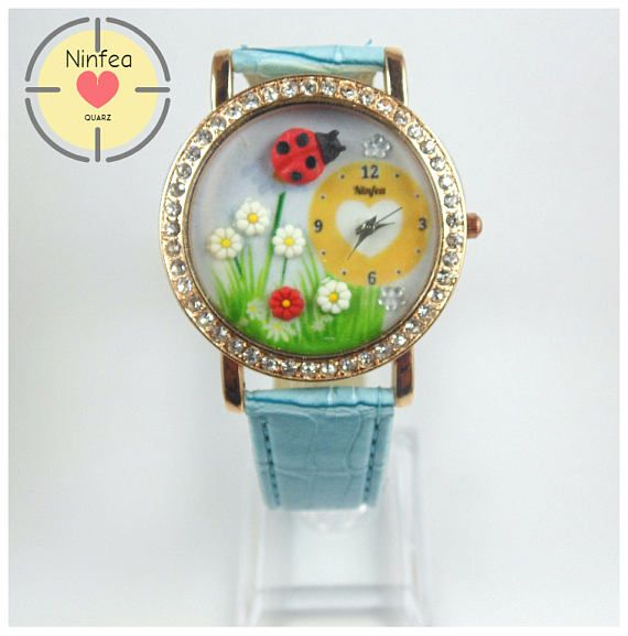 Orologio modello  ladybug  3d Wristwatche Clay  ladybug