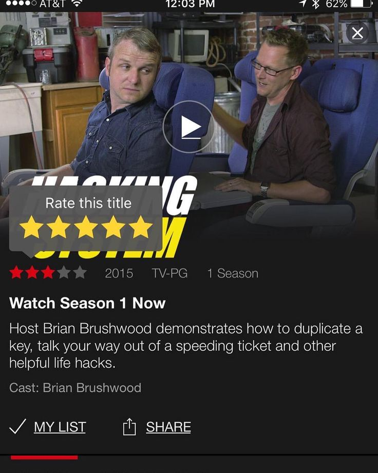 If you ever wanted to watch Hacking the System but didn't have cable or whatever it's now on Netflix. by captainmurphy