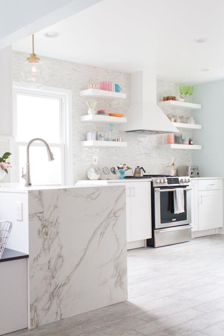 Beautiful Blue Grey Kitchen Paint