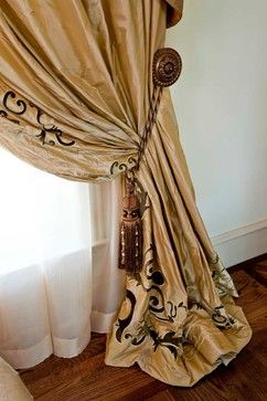 26 best images about tassels on pinterest the white old for Old world curtains and drapes