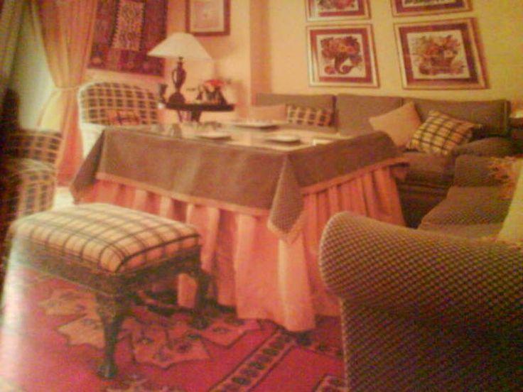 La mesa camilla¿ ¿¿¿ya no se estila?? (pág. 4) | Decorar tu casa es facilisimo.com