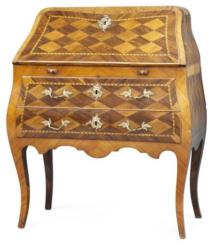 secretaire from the Swedish rococo period