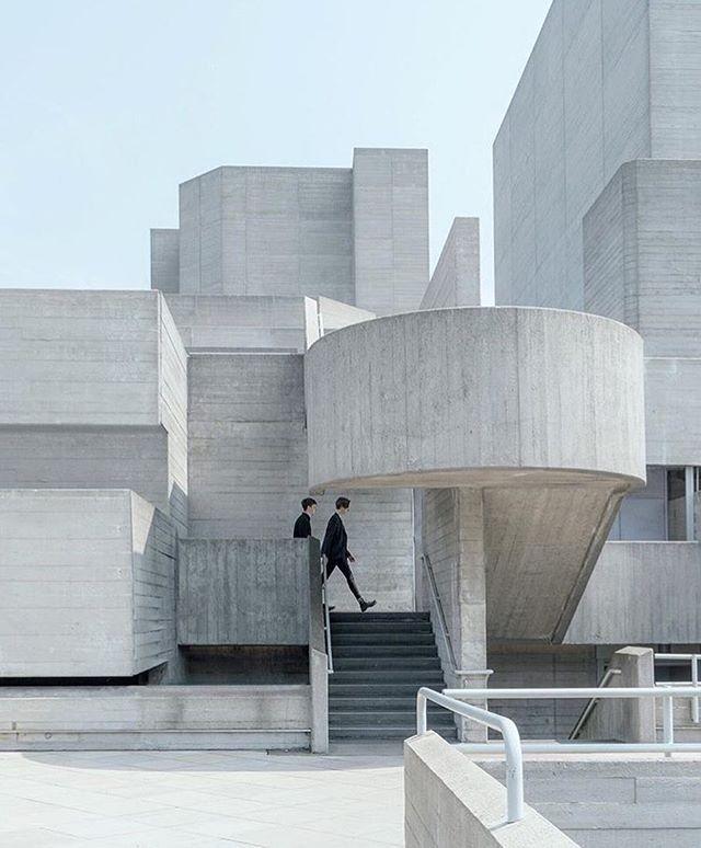 Beautiful Concrete Buildings : Beautiful concrete building via thismintymoment