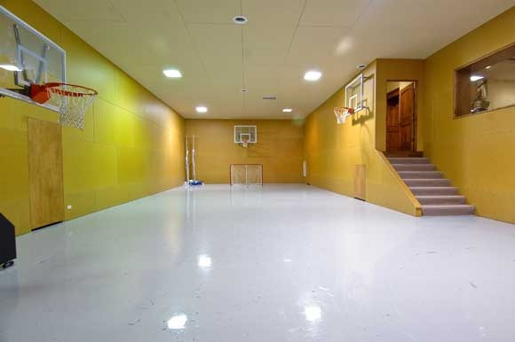 65 best sports court images on pinterest sports court for House plans with indoor sport court