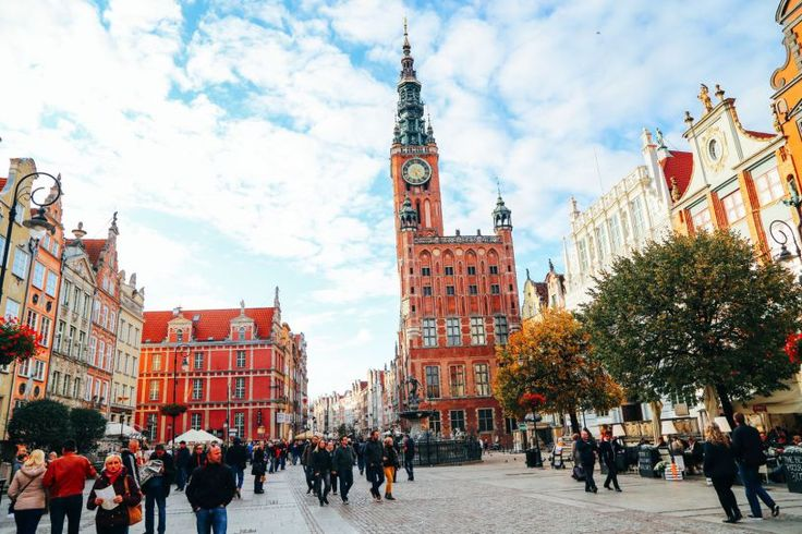 The Beautiful Old Town Of Gdansk In Poland   PART 2 (24)