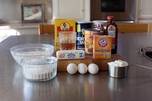 Pumpkin Cake with Whiskey Whipped Cream | Recipe