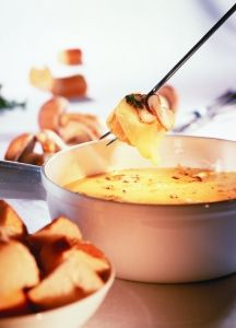 Käsefondue zu silvester!